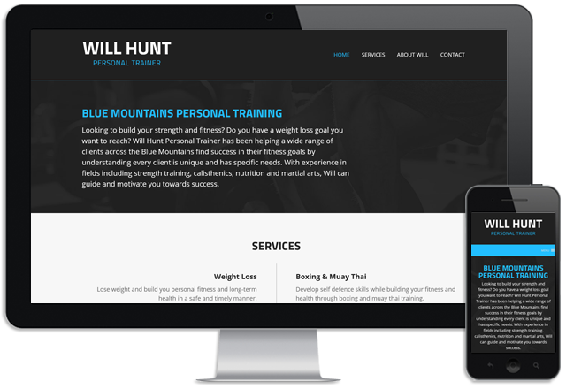 Will Hunt Personal Trainer